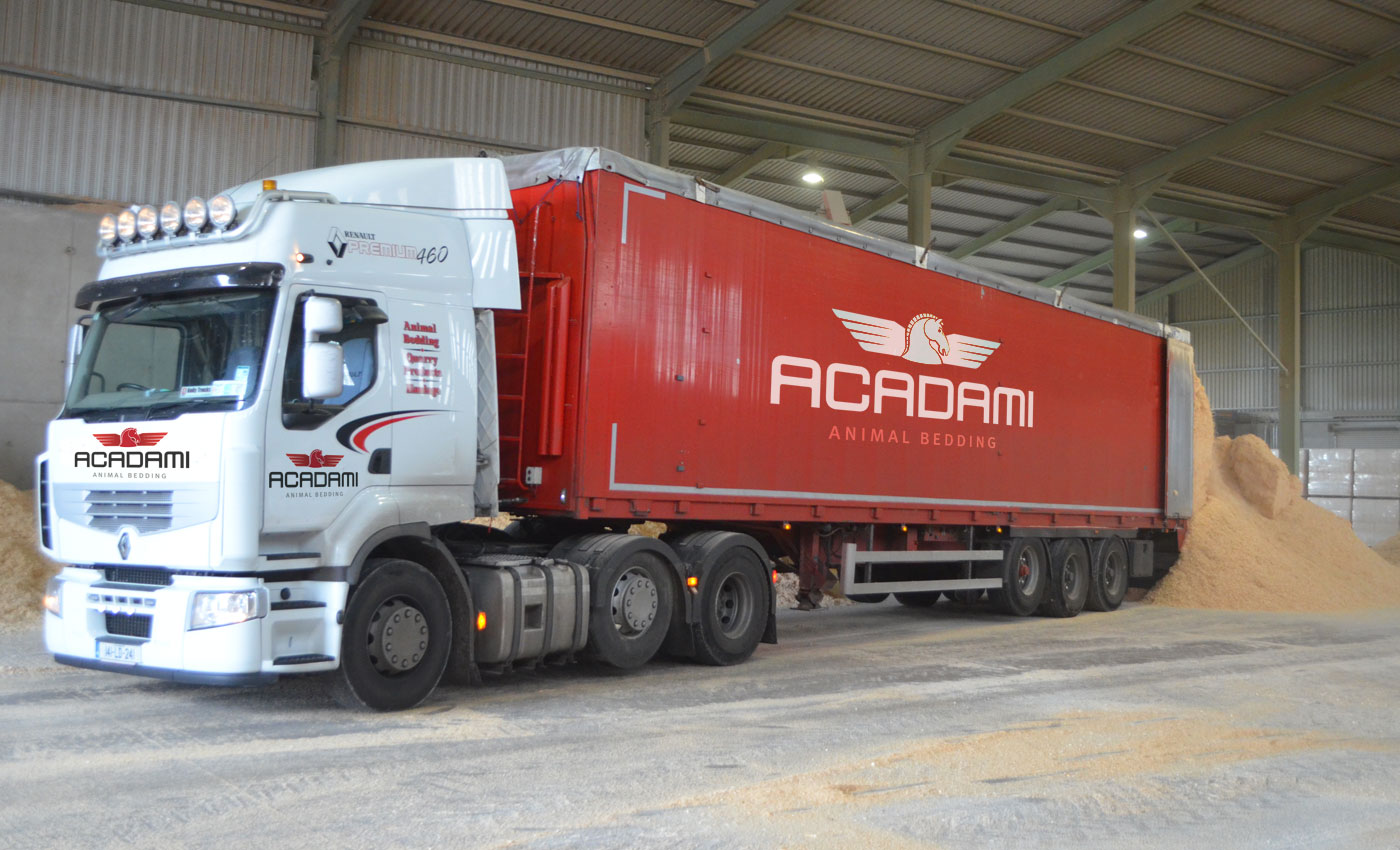Acadami 6 Tonne Truck with Moving Floor