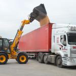 Loading Acadami Bedding truck