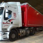 Acadami Bedding bulk delivery truck