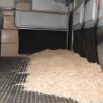 Acadami Bedding in horse box